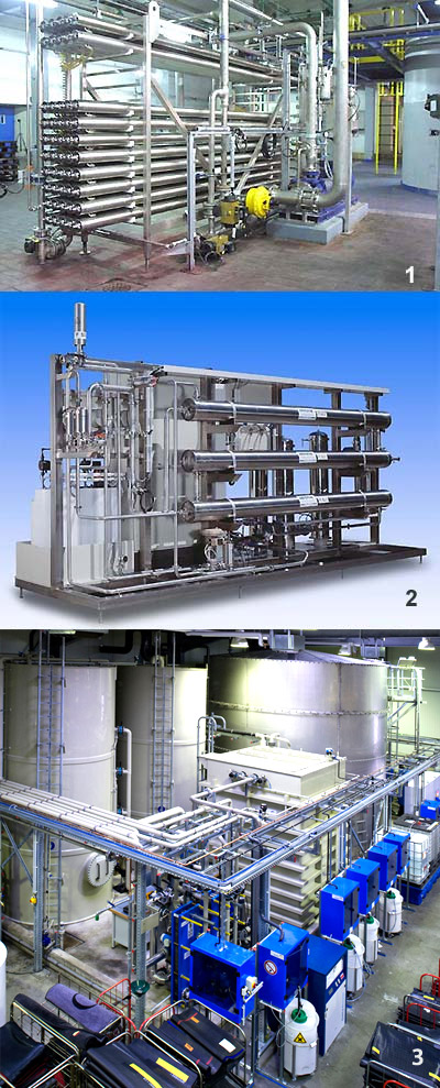 Waste water treatment focused on a high cleaning capacity and energy efficiency.